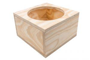 Auralinear Wood Boxes