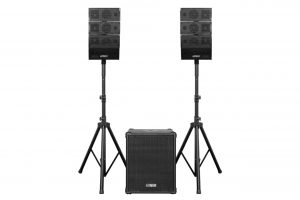DJ Quake 2.1 Array Speaker Systems